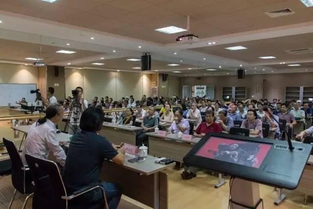 蔡玉水《艺术和我们--艺术家蔡玉水与您温暖地遇见》讲座在山东省文化馆开讲