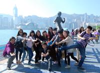 公派学生赴香港考察交流掠影