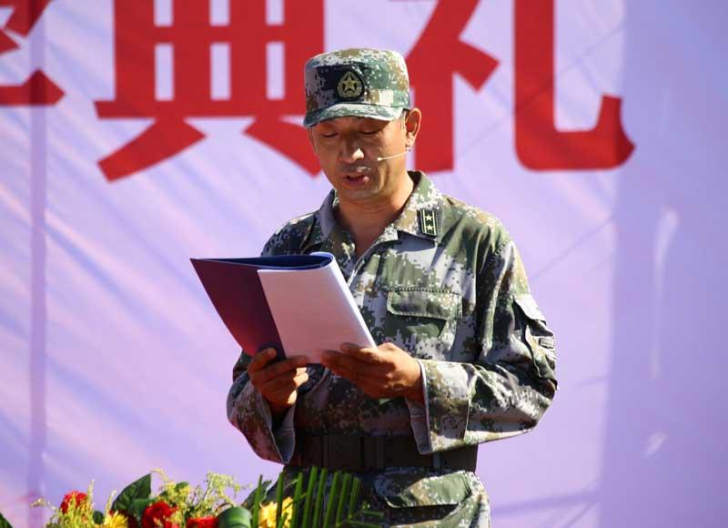 2018级新生军训总结------军训团团长陈明永