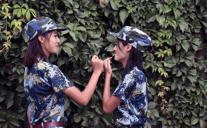 """双胞胎姐妹花共筑""""蓝天梦""""-----访航空学院2018级新生刘聪聪、刘慧慧"""