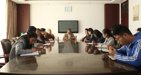 群策群力共建新型教学方式——传媒学院召开本学年第二次教研会
