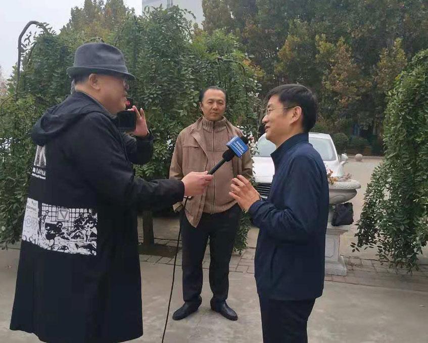 中国新闻长江韬奋奖获得者范维坚来我校召开讲座
